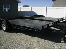 2012 New 18' FLATBED EXTRA WIDE TRAILER