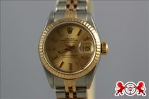 1900 Rolex Lady's Datejust Stainless Steel & Gold