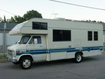 1989 FLEETWOOD JAMBOREE SEARCH , By CHEVROLET V8 G30 JAMBOREE SEARCH By FLEETWOO