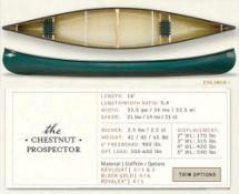 Bell Canoe Chestnut Prospector 16' Royalex