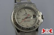 1900 Rolex Mid-Size Yachtmaster Stainless Steel & Platinum
