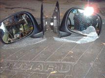 2002 Dodge Ram 1500 Factory Mirrors (pair) DC55077438AC
