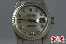1900 Rolex Lady's Datejust Mother of Pearl Diamond Bezel