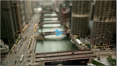 Template #1536: Tilt Shift City