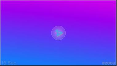 Template #2008: purple blue linear 8