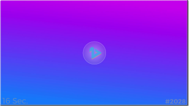 Template #2028: purple blue linear 28