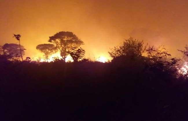 Aumentam incêndios em terras indígenas