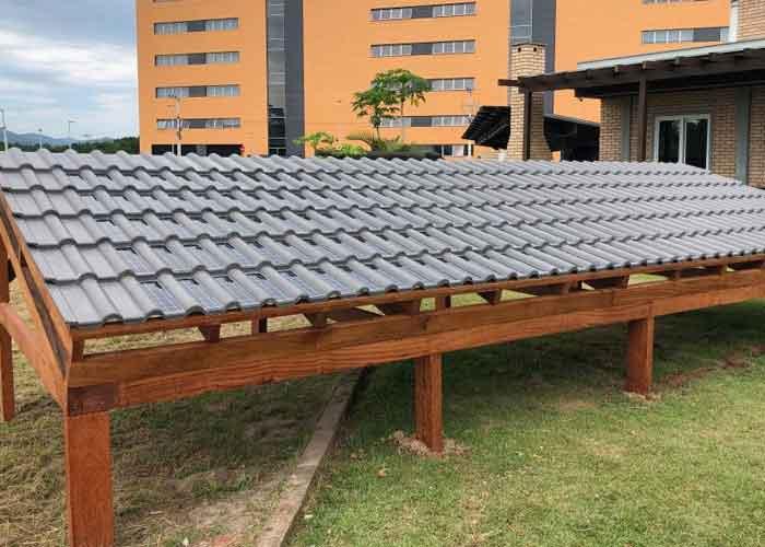 Telha fotovoltaica de concreto da Eternit é aprovada pelo Inmetro