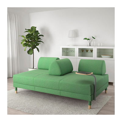 Marvelous Very Goods Flottebo Sleeper Sofa With Side Table Lysed Bralicious Painted Fabric Chair Ideas Braliciousco