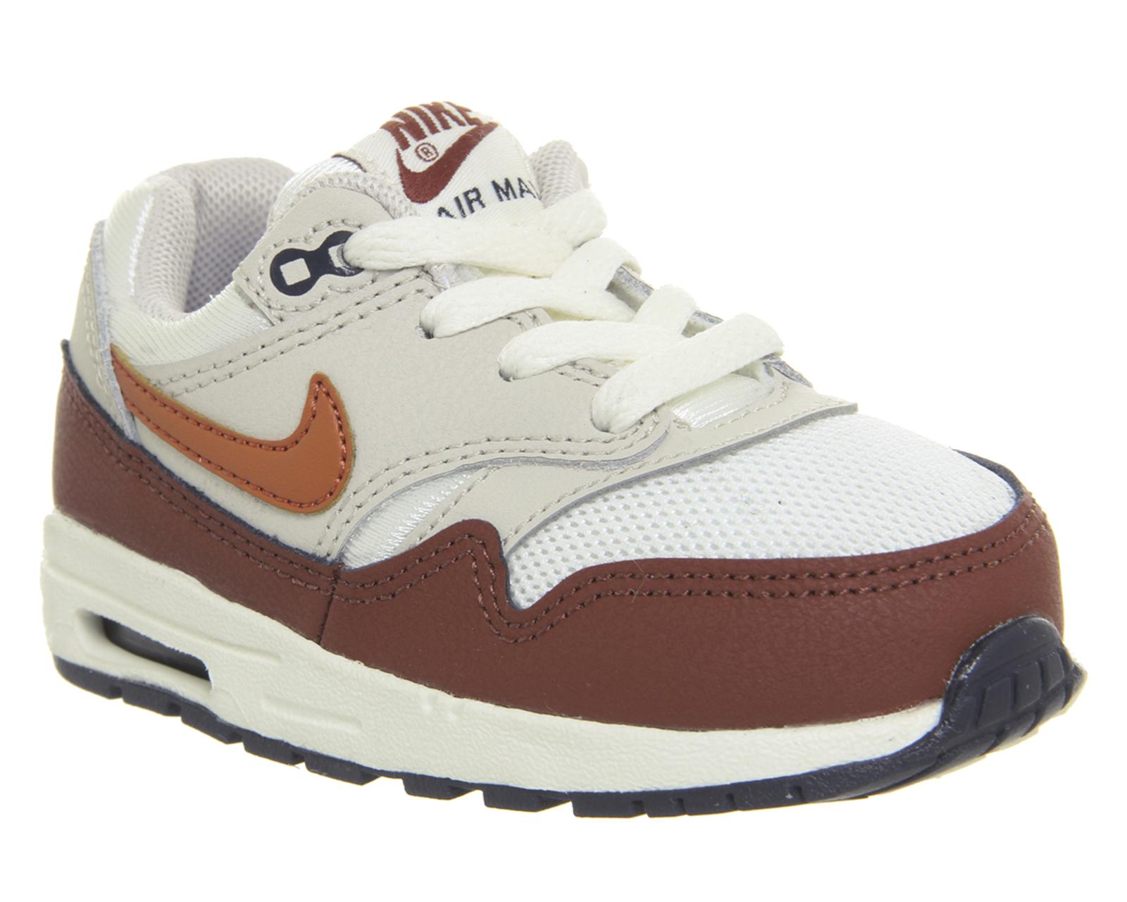 Very Goods | Nike Air Max 1 Td Sail Vintage Coral Mars Stone - Unisex