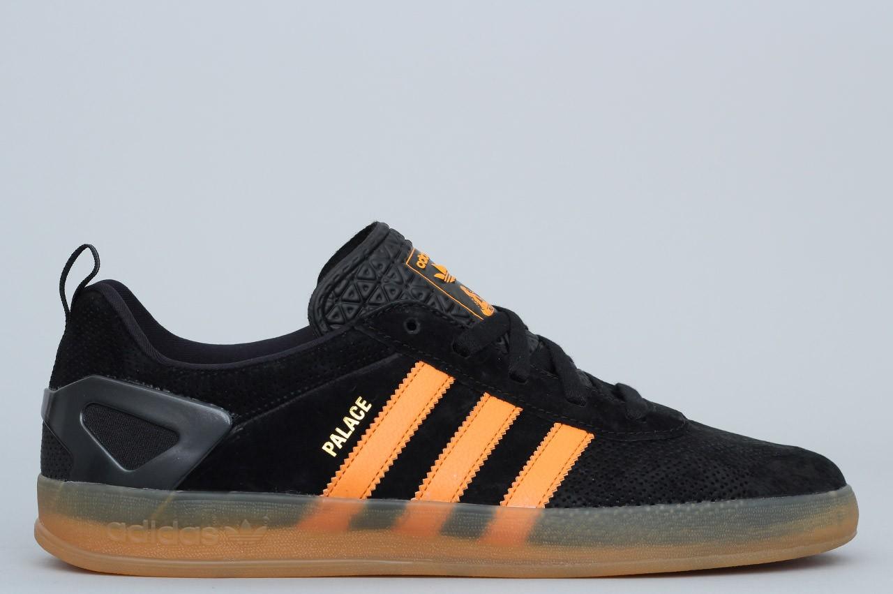 adidas X Palace Pro Shoes Core Black Bright Orange Gum 3 Adidas Brand