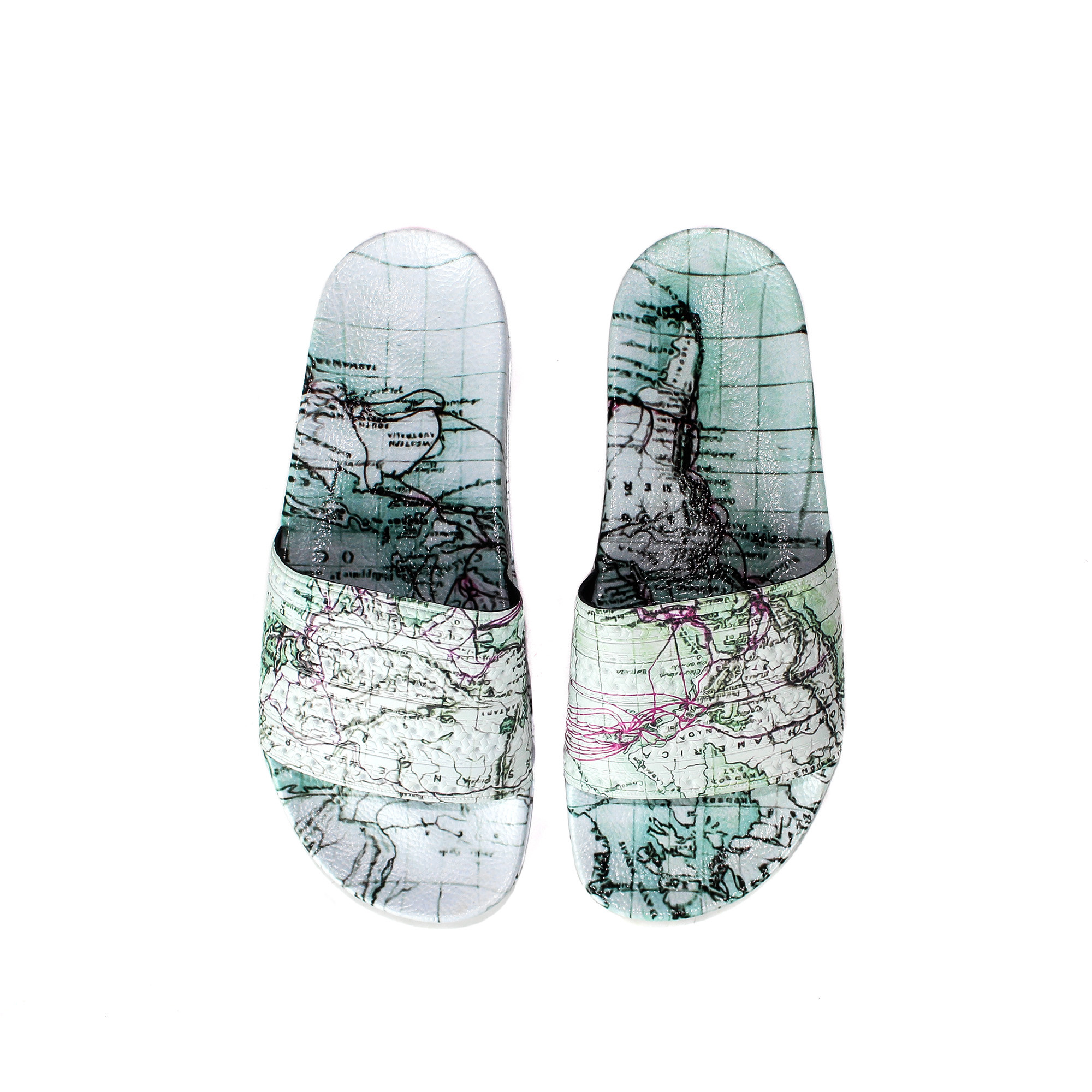 new style 22236 4e65f ... Very Goods Adidas x Eddie Huang Men s Adilette F37688 Extrabutter NY  11 of 12 (F37688) NEW adidas Adilette Slide X Eddie Huang - Ships Now ...