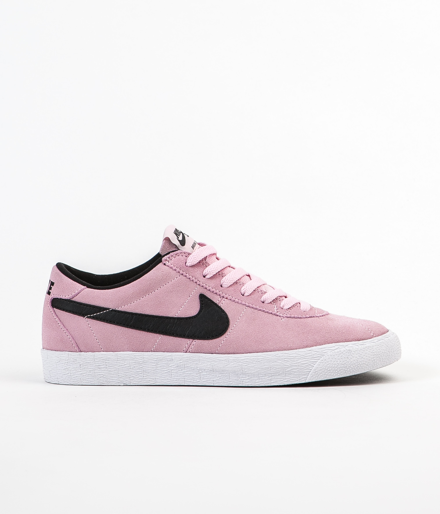 finest selection 731c6 f9167 Very Goods   Nike SB Bruin Premium SE Shoes - Prism Pink   Black - White    Flatspot