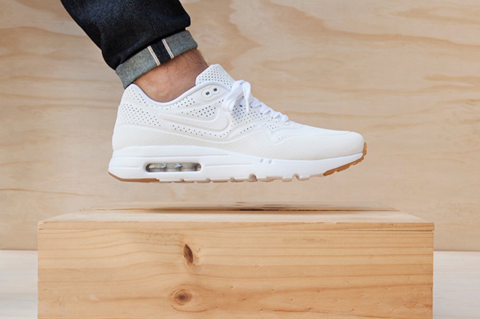 finest selection 4e411 d6a91 Very Goods   Nike Air Max 1 Ultra Moire White-White - 705297-111