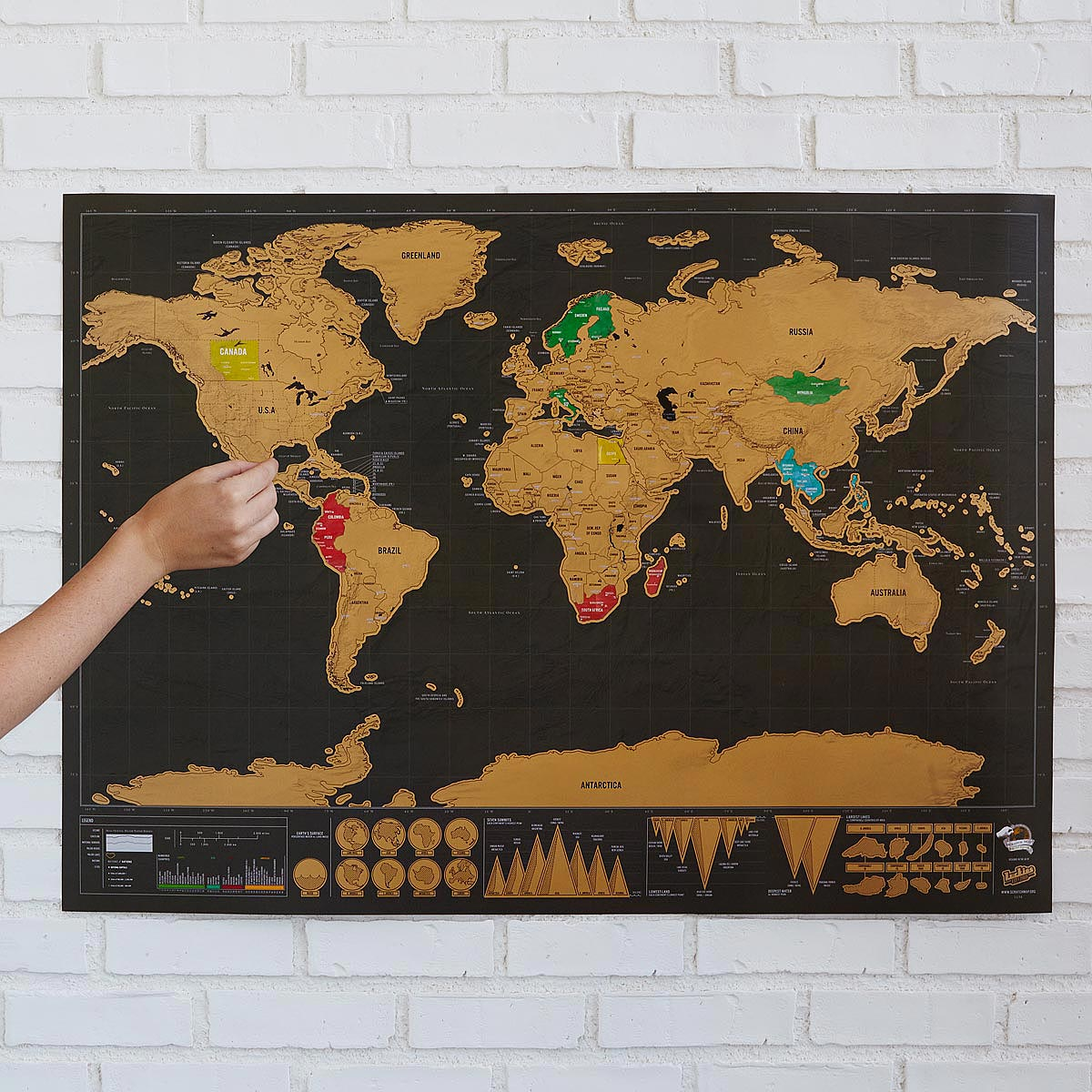 Scratch Map Chapters Very Goods | Scratch Map Deluxe | Scratch Off Wall Maps  Scratch Map Chapters
