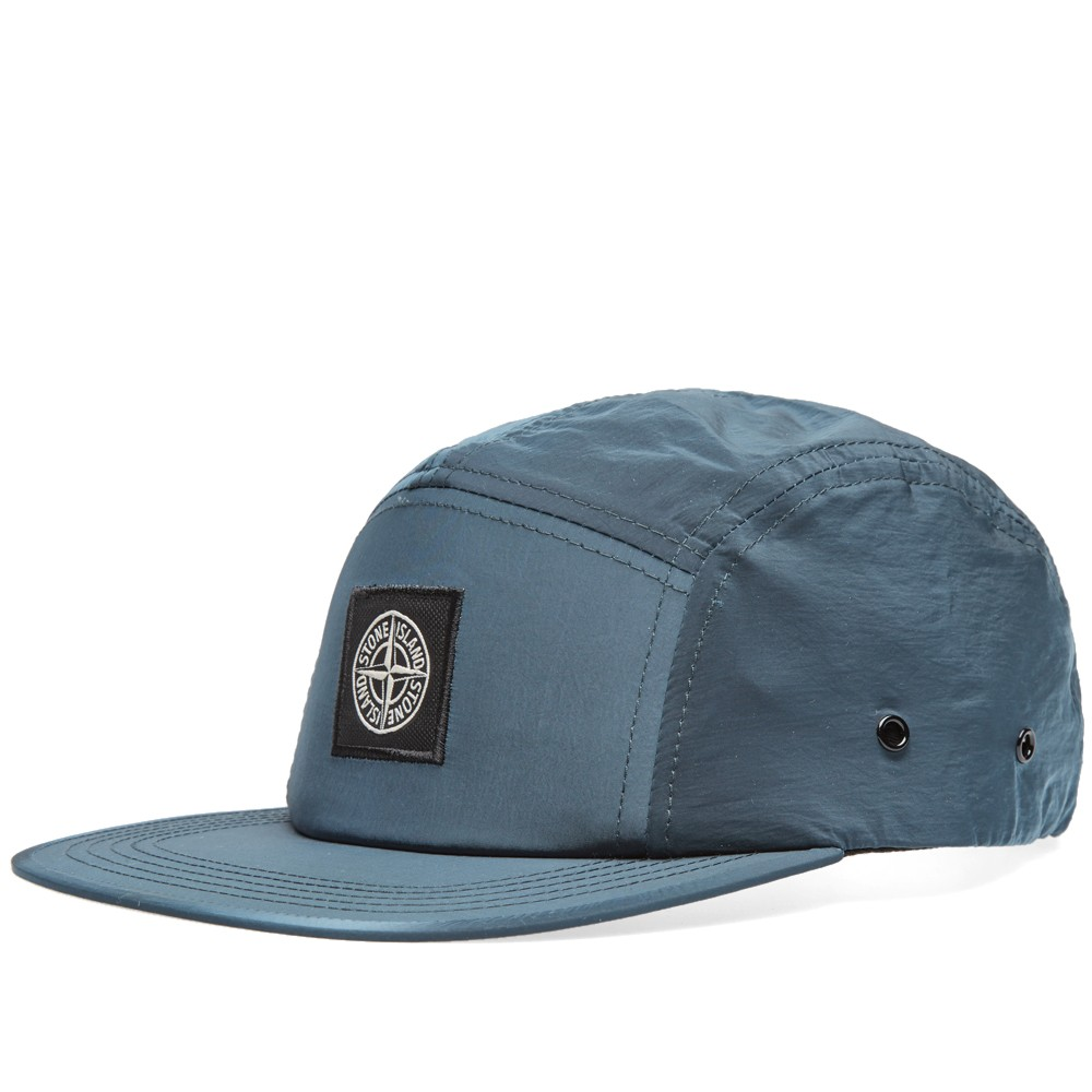 3a008d390 Very Goods | Stone Island Nylon 5-Panel Cap (Avio Blue)