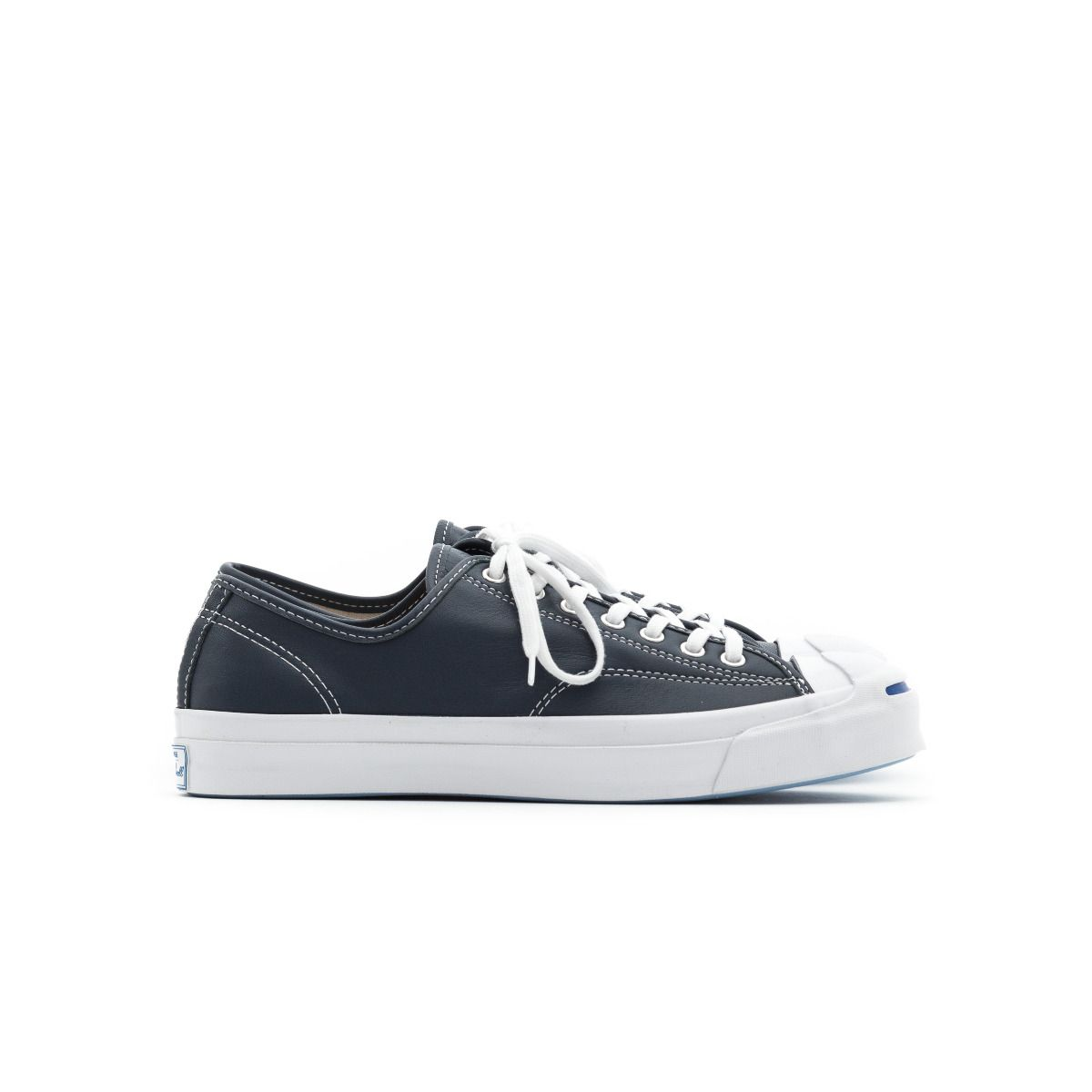 1393dd18429e Converse Jack Purcell Signature Leather Shark Navy 155586C ...