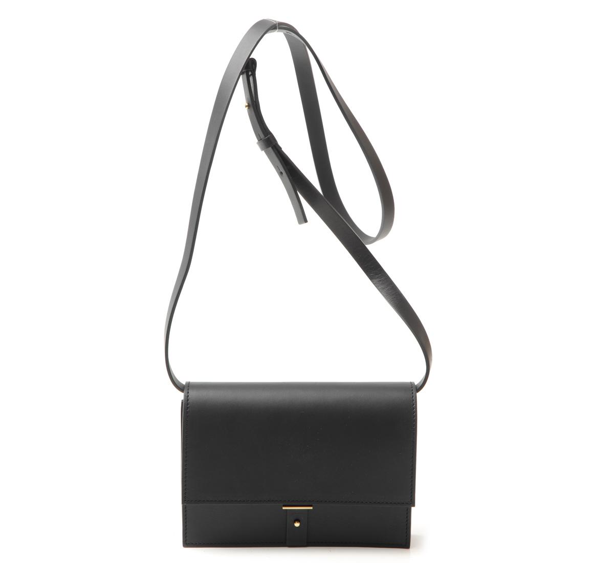 47fc12219c5 Very Goods   AB10 Black Shoulder Bag by PB 0110 - shop at Roztayger