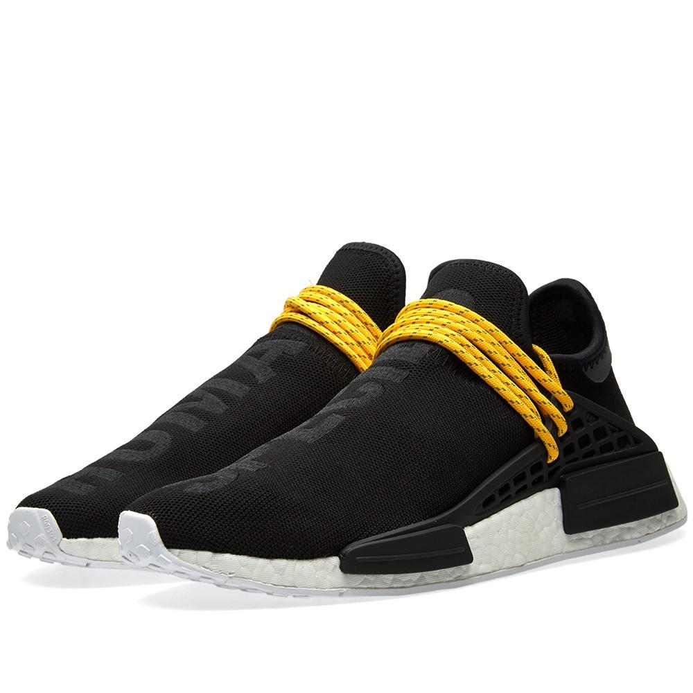 Adidas x Pharrell Williams Hu Human Race NMD (Core Black)