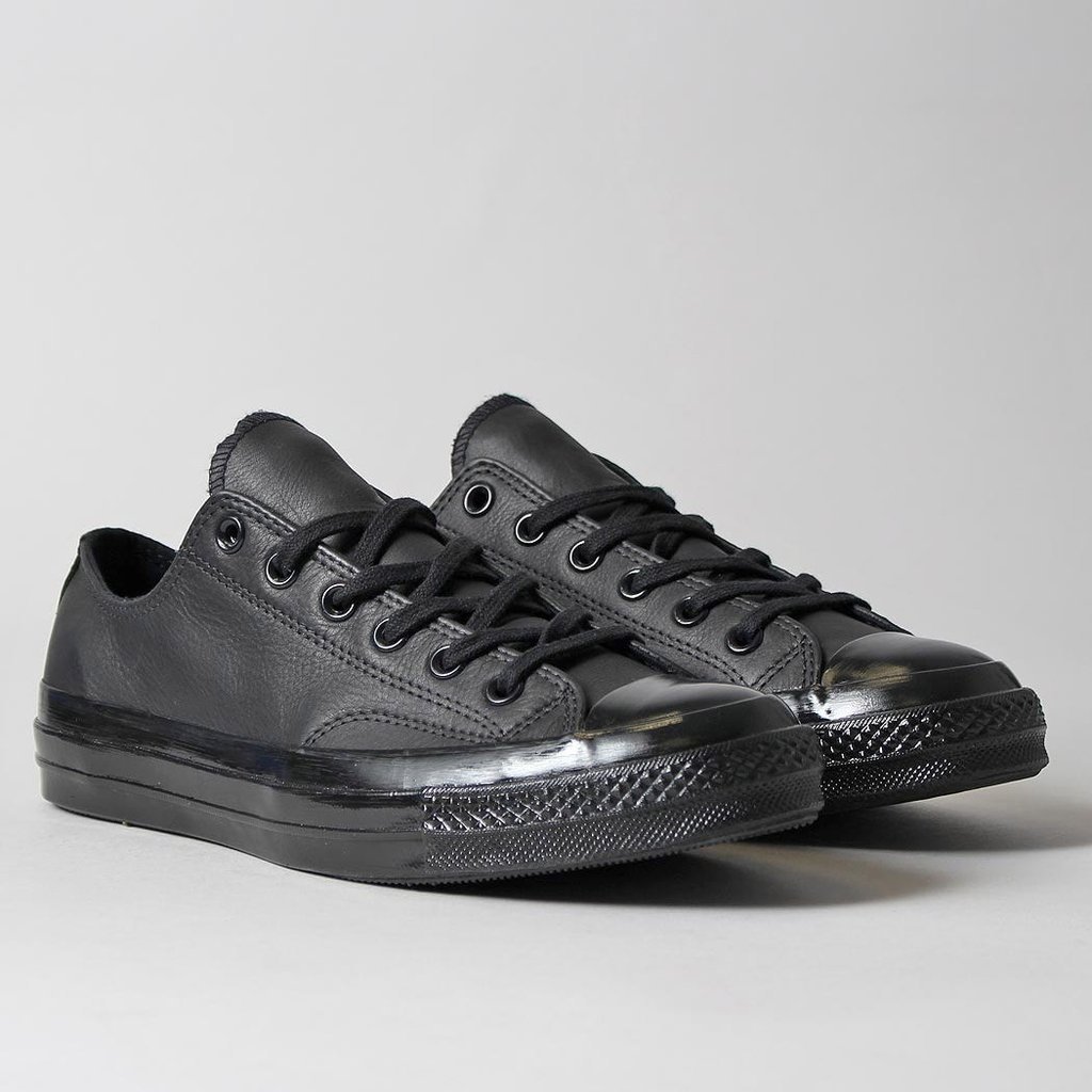 Very Goods   Converse Chuck Taylor All Star 70 OX Mono Leather Shoes - Black /Black – Urban Industry