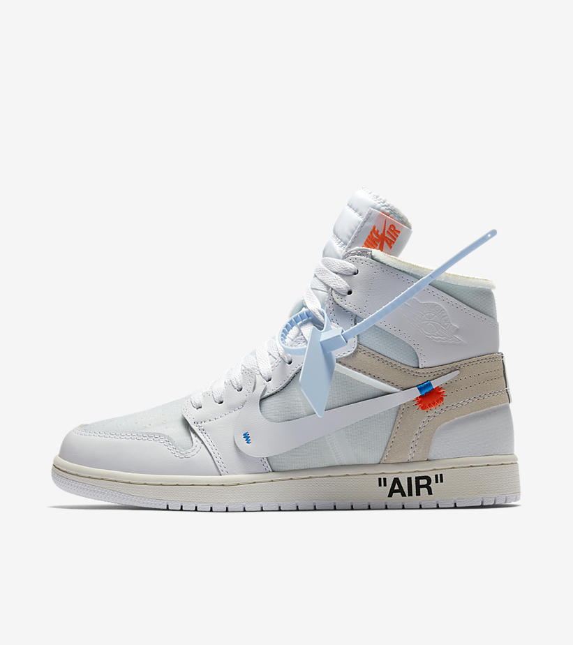 anunciar Prohibir Instalación  Very Goods | Air Jordan 1 X Off White 'White' Release Date. Nike+ Launch GB