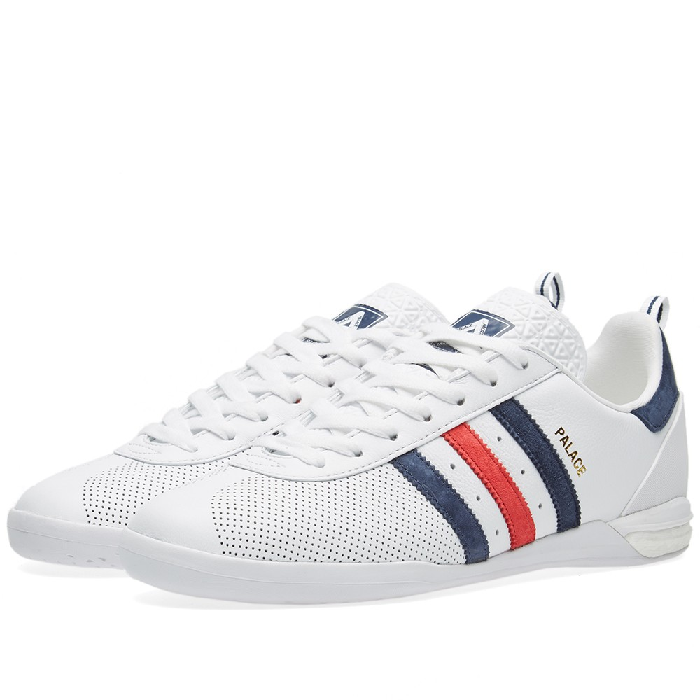 quality design 92736 b978b Very Goods   Adidas x Palace Indoor (White)