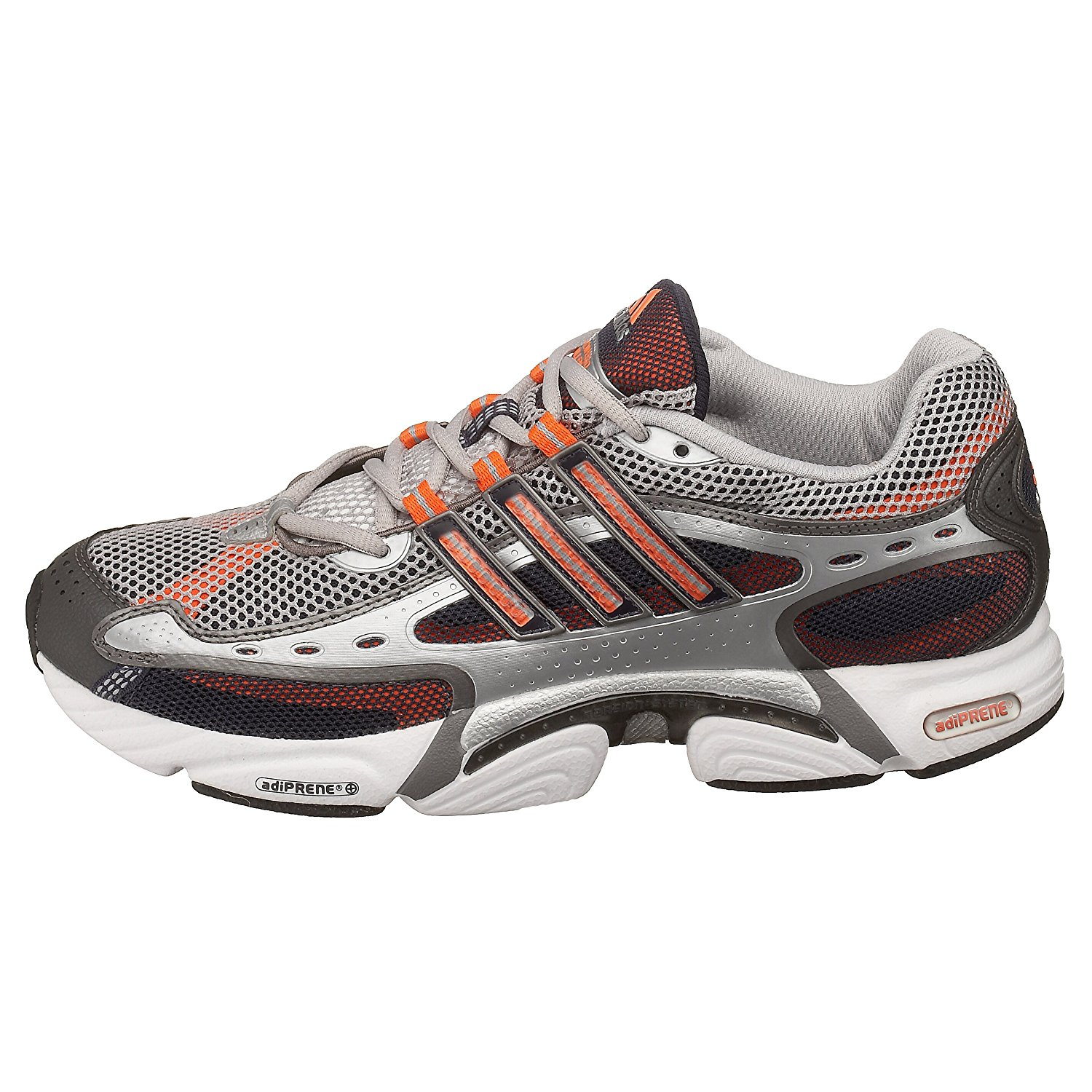 0c083a5eb6ce5 adidas Men's Ozweego Millennium Running Shoe, Silver/Cyber Orange, 14 M:  Buy Online at Low Prices in India - Amazon.in