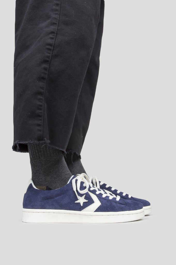 Very Goods   CONVERSE PRO LEATHER OX MIDNIGHT NAVY – BLENDS