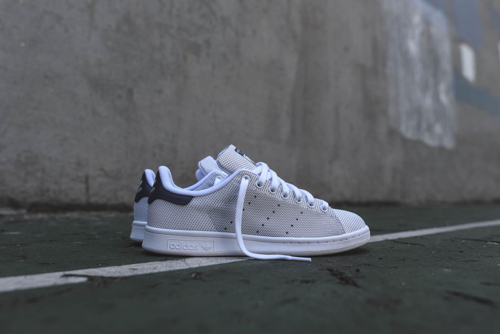 Very Goods | adidas Originals Stan Smith Weave White