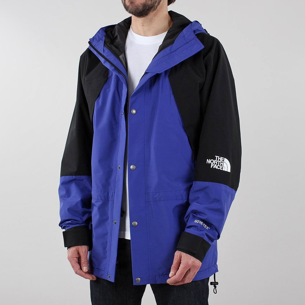 The North Face Jacket 1994 Retro Mountain Aztec Blue