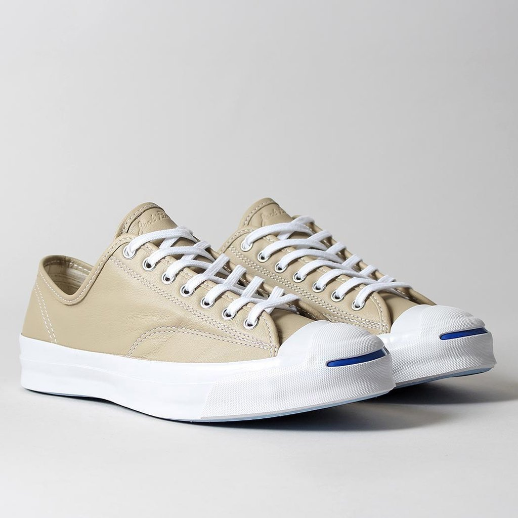 Very Goods | Converse Jack Purcell Signature OX Leather Shoes - Vintage  Khaki/White – Urban Industry