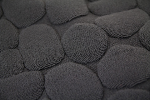 . Very Goods   Ishikoro Pebble Stone Bath Mat  Grey   rikumo