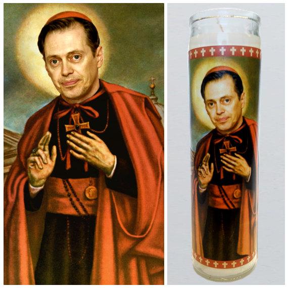 very goods steve buscemi prayer candle saint buscemi by