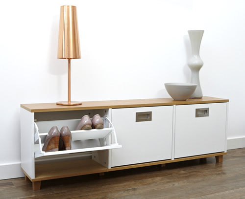 Etonnant Very Goods | Merton Shoe Storage Bench   3 Drawer   Shoe Cupboards | Shoe  Storage Benches | Shoe Cabinets