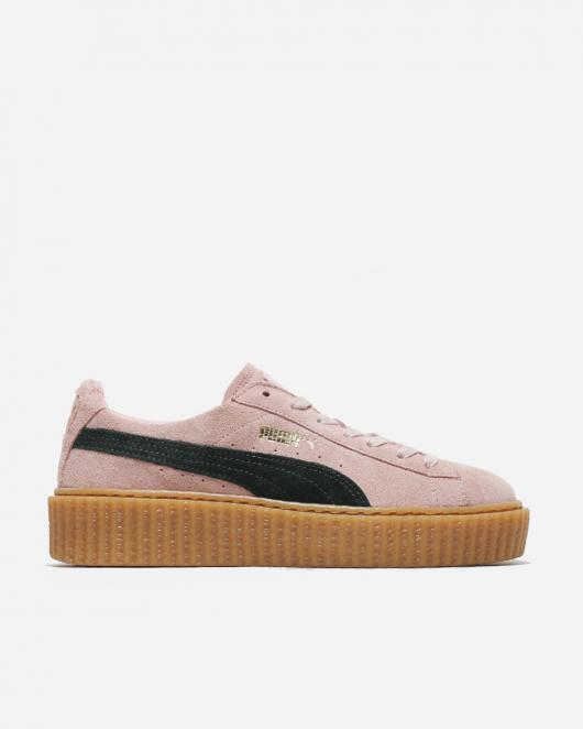 best sneakers 30ba9 b9cb5 Naked - Supplying girls with sneakers - Puma Suede Creepers Pink | NAKED