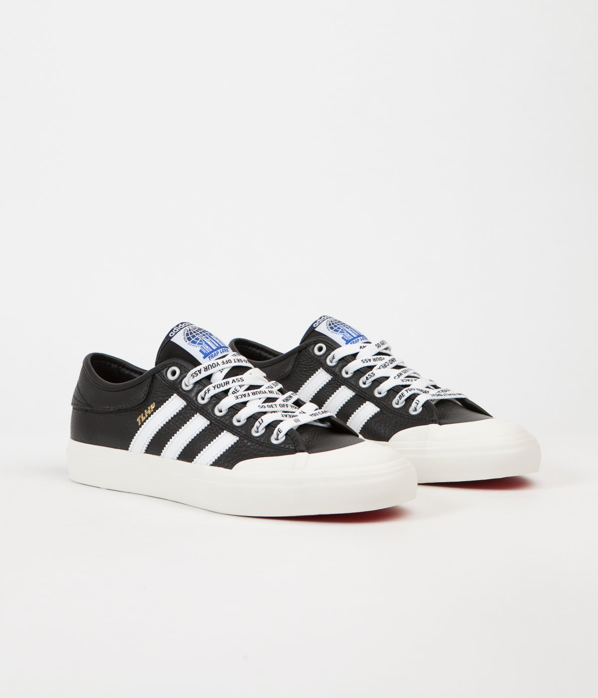 Aprendizaje Volver a llamar especificar  Very Goods | Adidas x Trap Lord Ferg Matchcourt Shoes - Black / White |  Flatspot