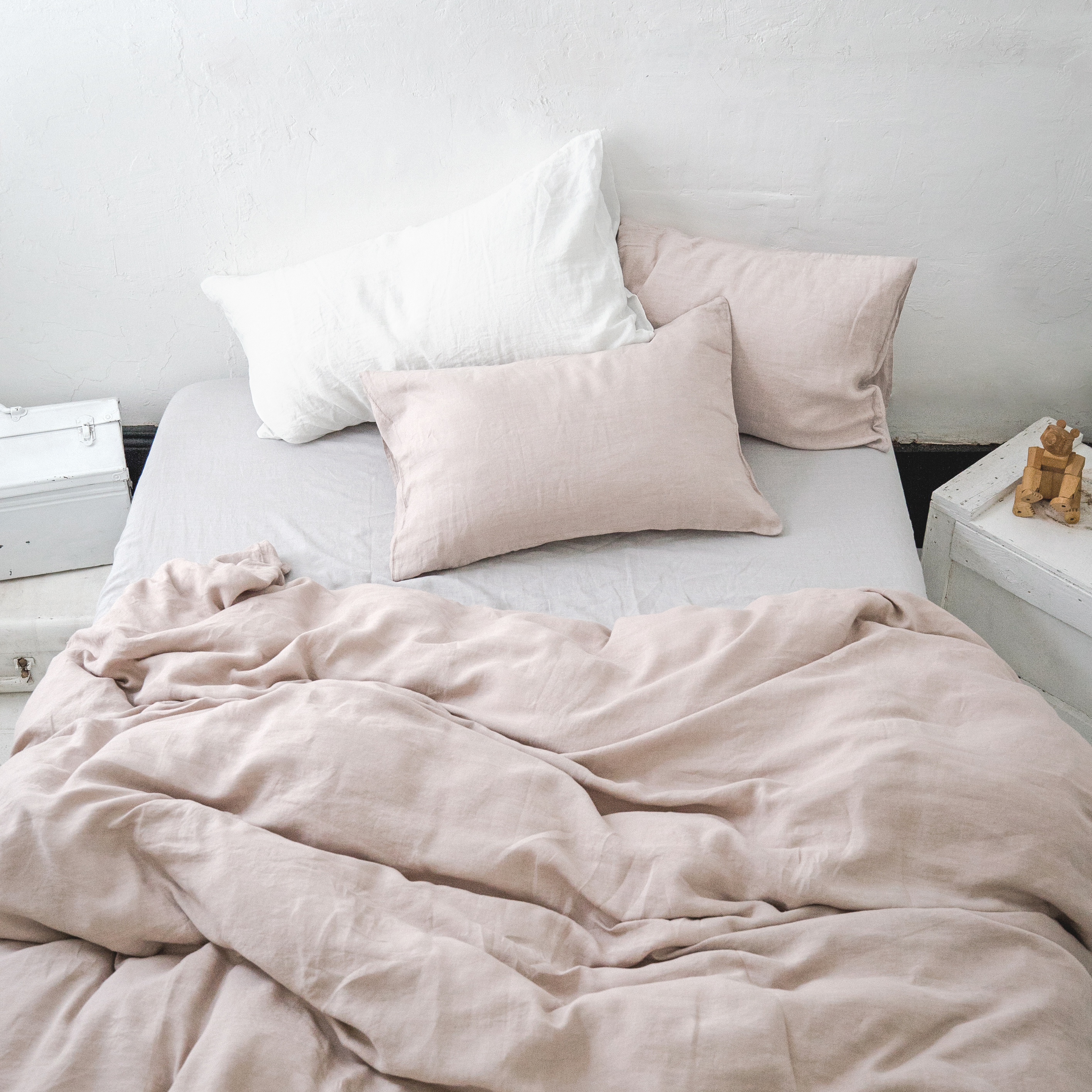 count rows stunning ruffles set blush of pink thread linen with style cotton cover duvet nz