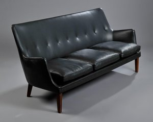 Very Goods Arne Vodder Free Standing Three Seater Sofa By For At Deconet