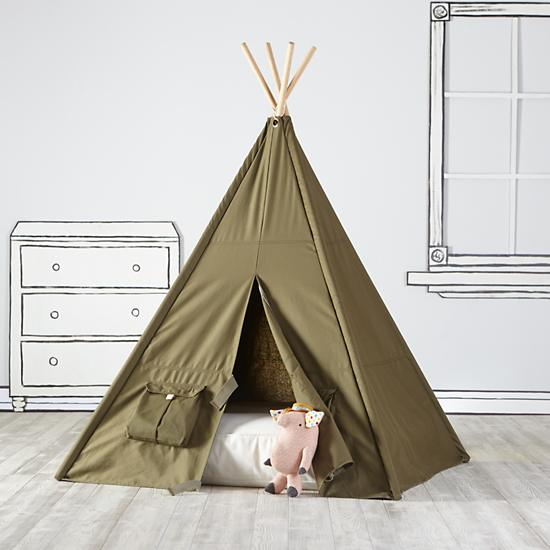 & Very Goods | Kids Teepee (Cargo) | The Land of Nod