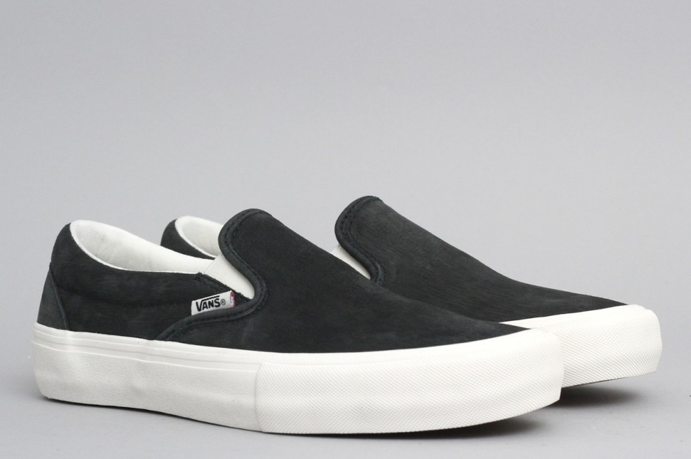 Vans Slip On Pro Pfanner Shoes Black / Marshmallow from Slam City Skates  London UK