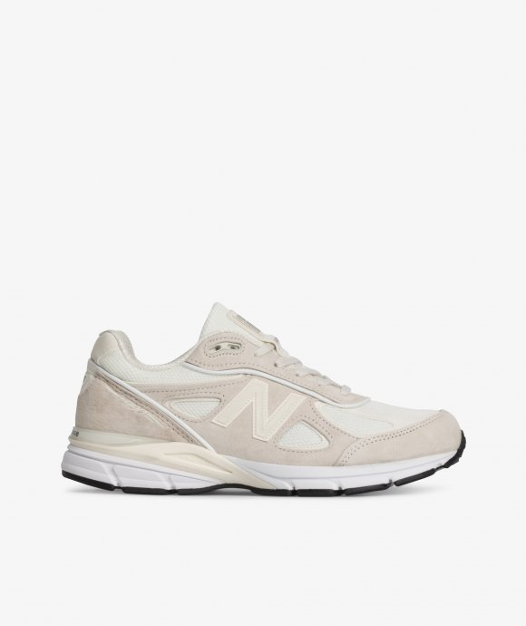 the best attitude 43187 a85de Skateboarding, Shoes & Clothing Online Store - Shop now - Stüssy x New  Balance 990V4 (Cream)