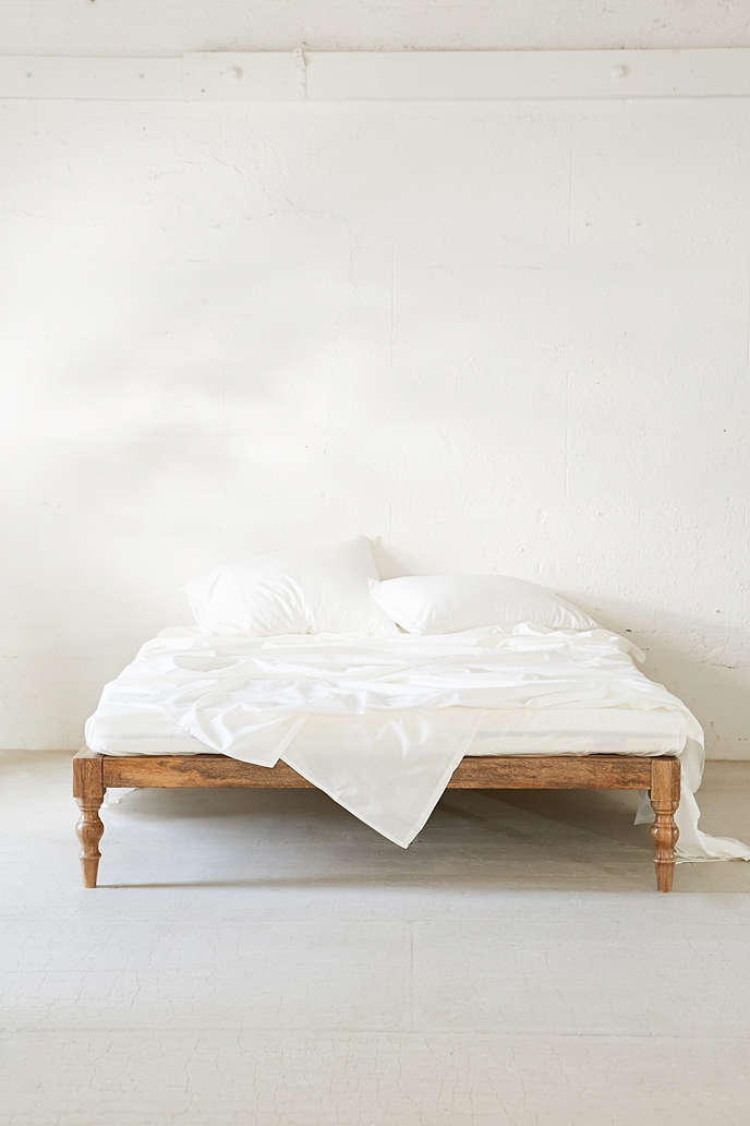 magical thinking bohemian white platform bed