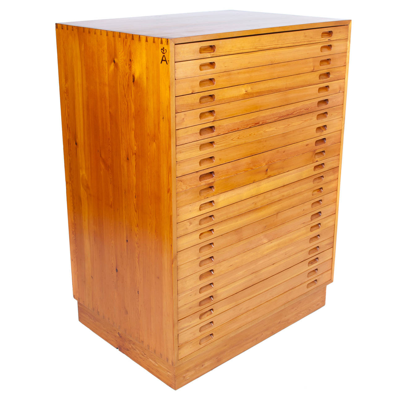 Picture of: Very Goods Kaare Klint Flat File Cabinet Made By Rud Rasmussen For Sale At 1stdibs