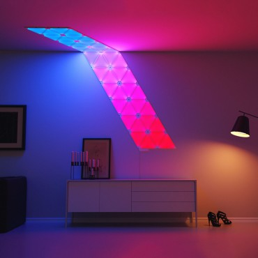 Very Goods | Nanoleaf Aurora LED Sconce