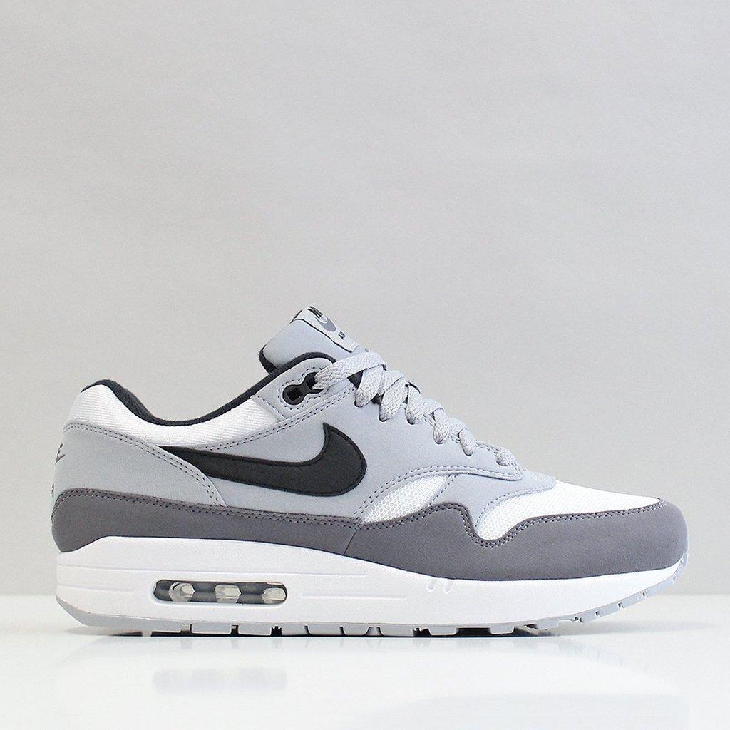 Nike air max 1 wolf greywhiteblack : Sneakers
