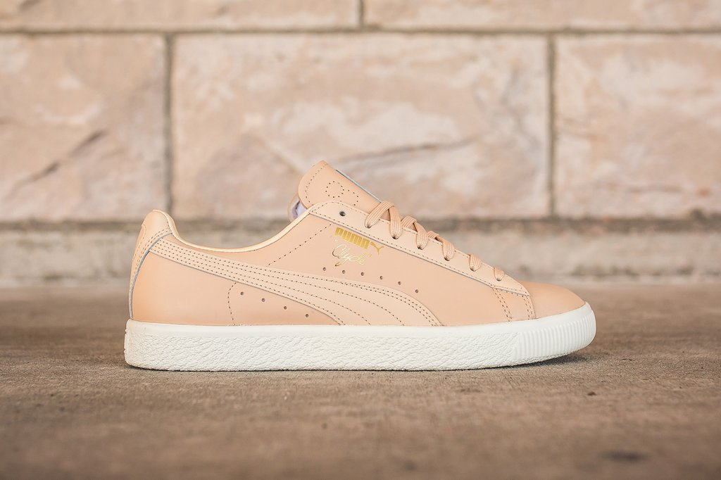 best sneakers 194b1 0bde9 PUMA CLYDE NATURAL - NATURAL VACHETTA – PACKER SHOES