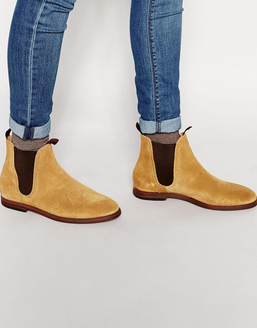 H By Hudson Tamper Suede Chelsea Boot Outlet Cheap Prices Buy Cheap Outlet Locations Clearance Find Great Cheap Price Outlet Sale UpBxFMx