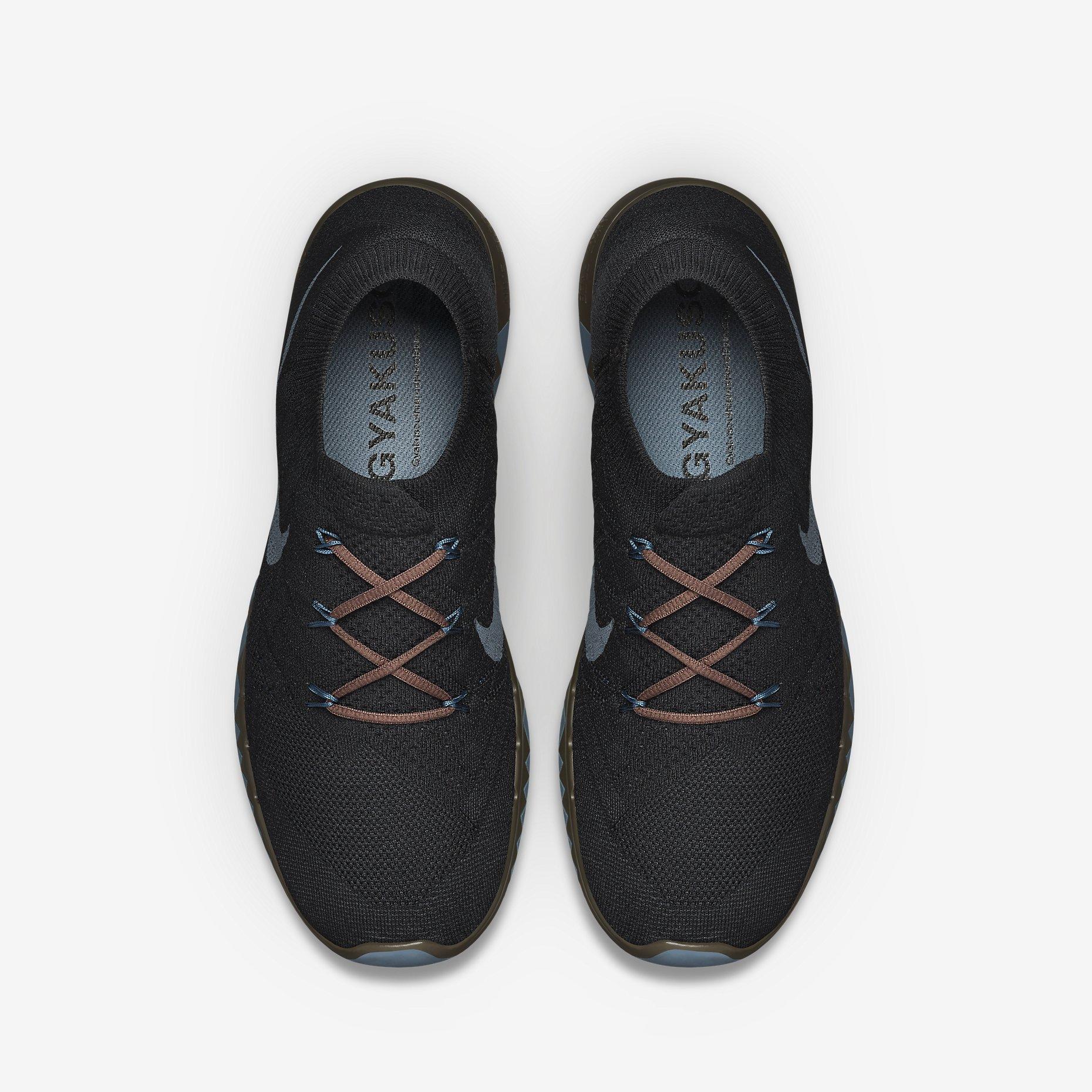 best service f0c36 b4d03 Nike x Undercover Gyakusou Free Flyknit 3.0 Black, Baroque Brown Slate 1;  Very Goods NikeLab Gyakusou Free 3.0 Flyknit Unisex Running Shoe (Men s  Sizing).