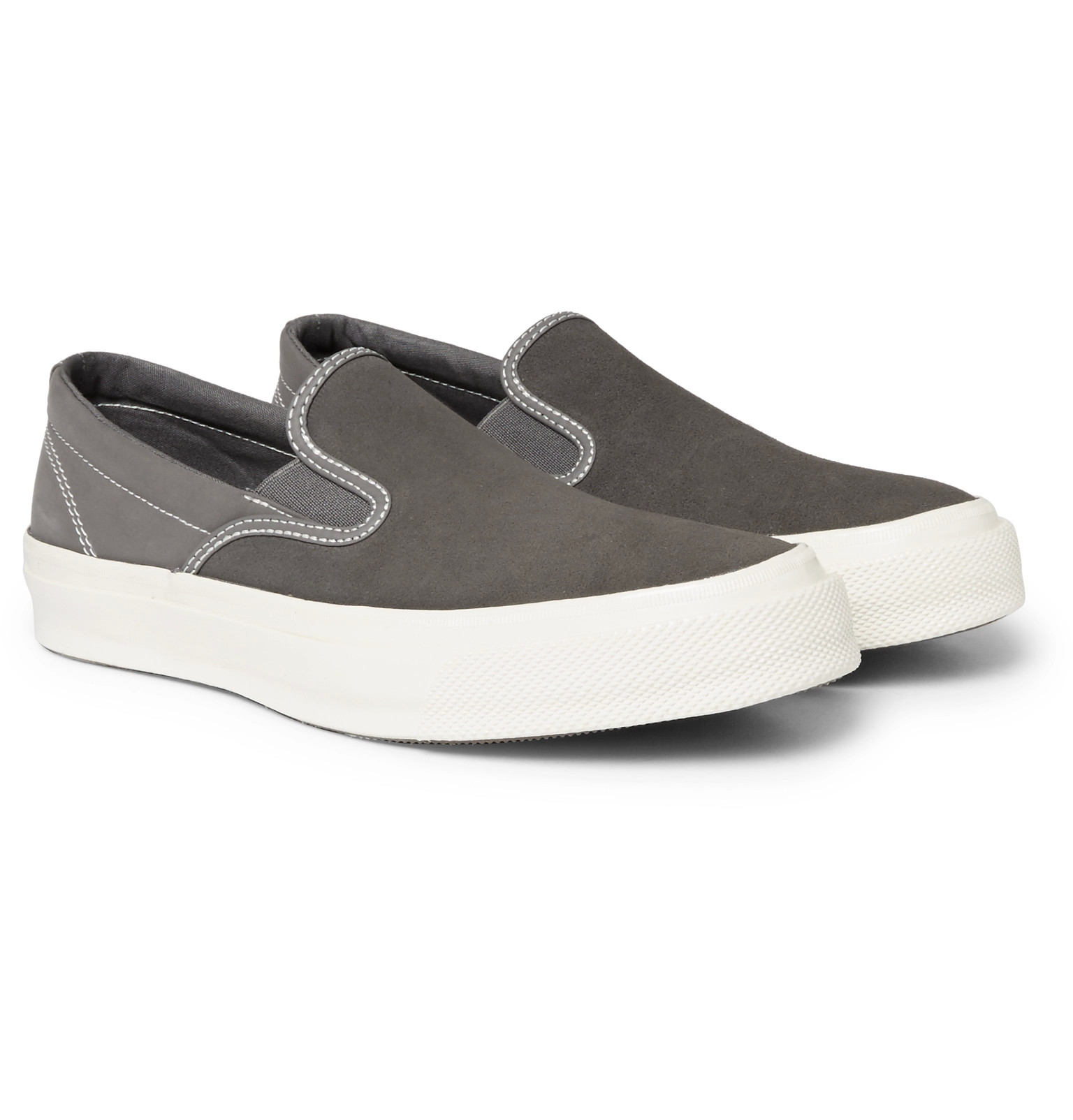 Very Goods | Converse Deck Star 67 Suede and Canvas Slip