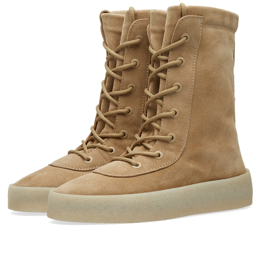 f368617440d yeezy season 2 taupe crepe boots